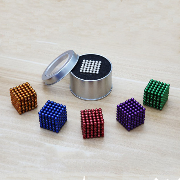 New Style 5mm 216pcs Neodymium Magnetic Balls Spheres Beads