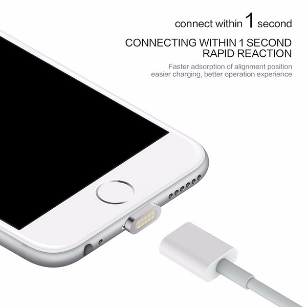 Magnetic  micro usb Iphone Charger Cable