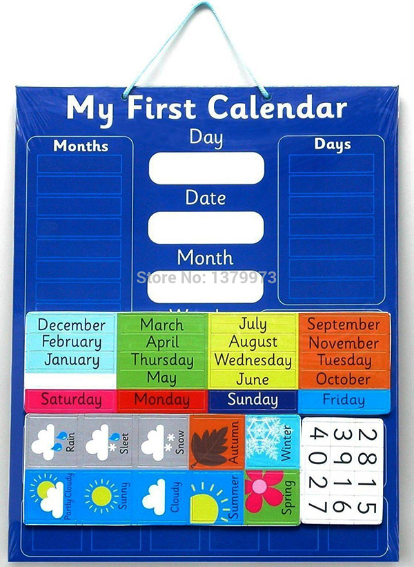 Various Customized Magnetic Yearly Monthy Weekly Calendar