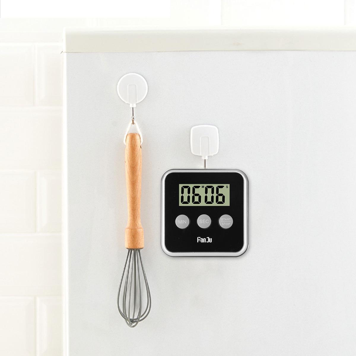 Fanju Fj231 Digital Kitchen Timer Big Display Loud Alarm