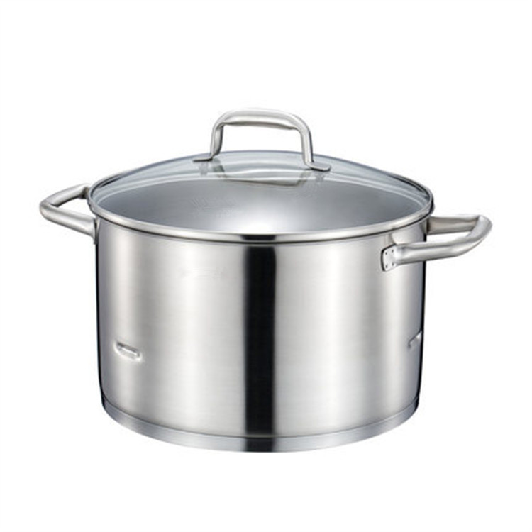 Stainless Steel Stockpots Saucepans Steamer Cooking Pan