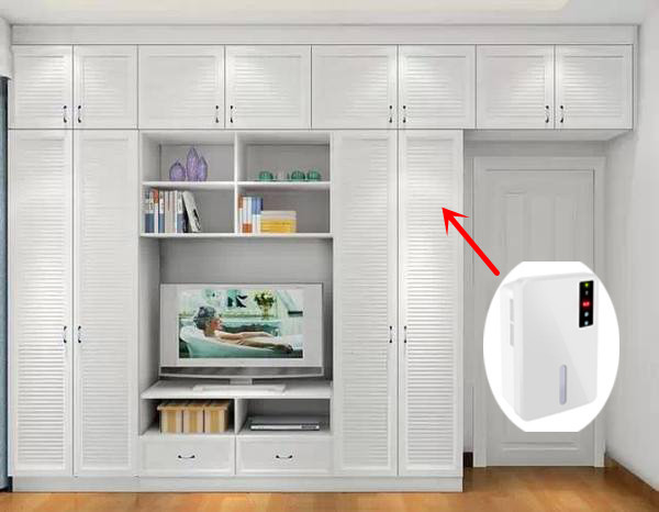 wardrobe Cabinet Closet With Dehumidifier