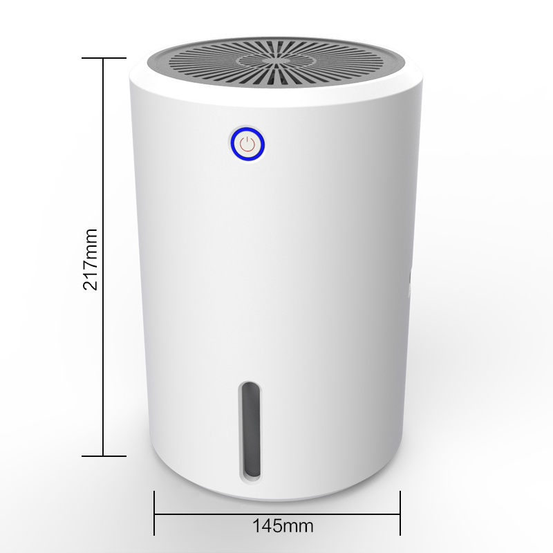 New Home Mini Dehumidifier, 900ml Ultra Quiet Small Portable