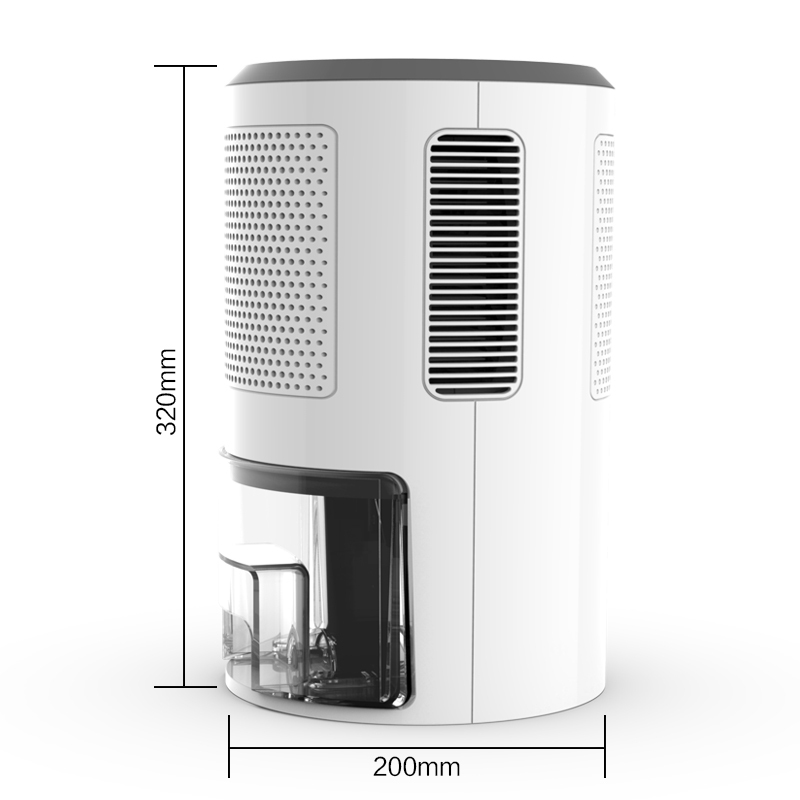 New 1800ml Mid-Size Dehumidifier with Humidistat