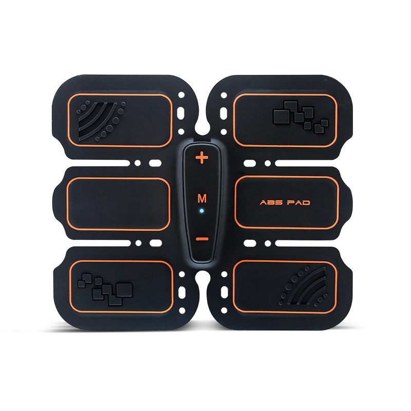 EMS Muscle Stimulator Abs Trainer Silicone Pad USB Charging