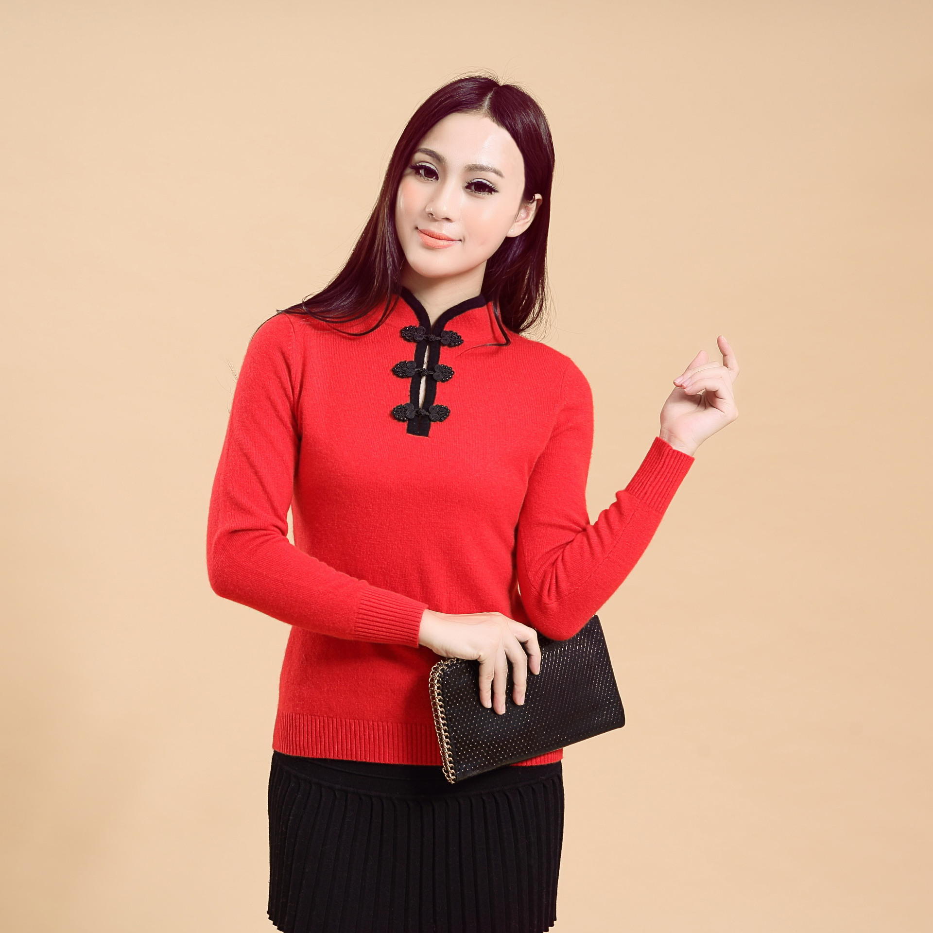 China style comfortable Pullover knitwear