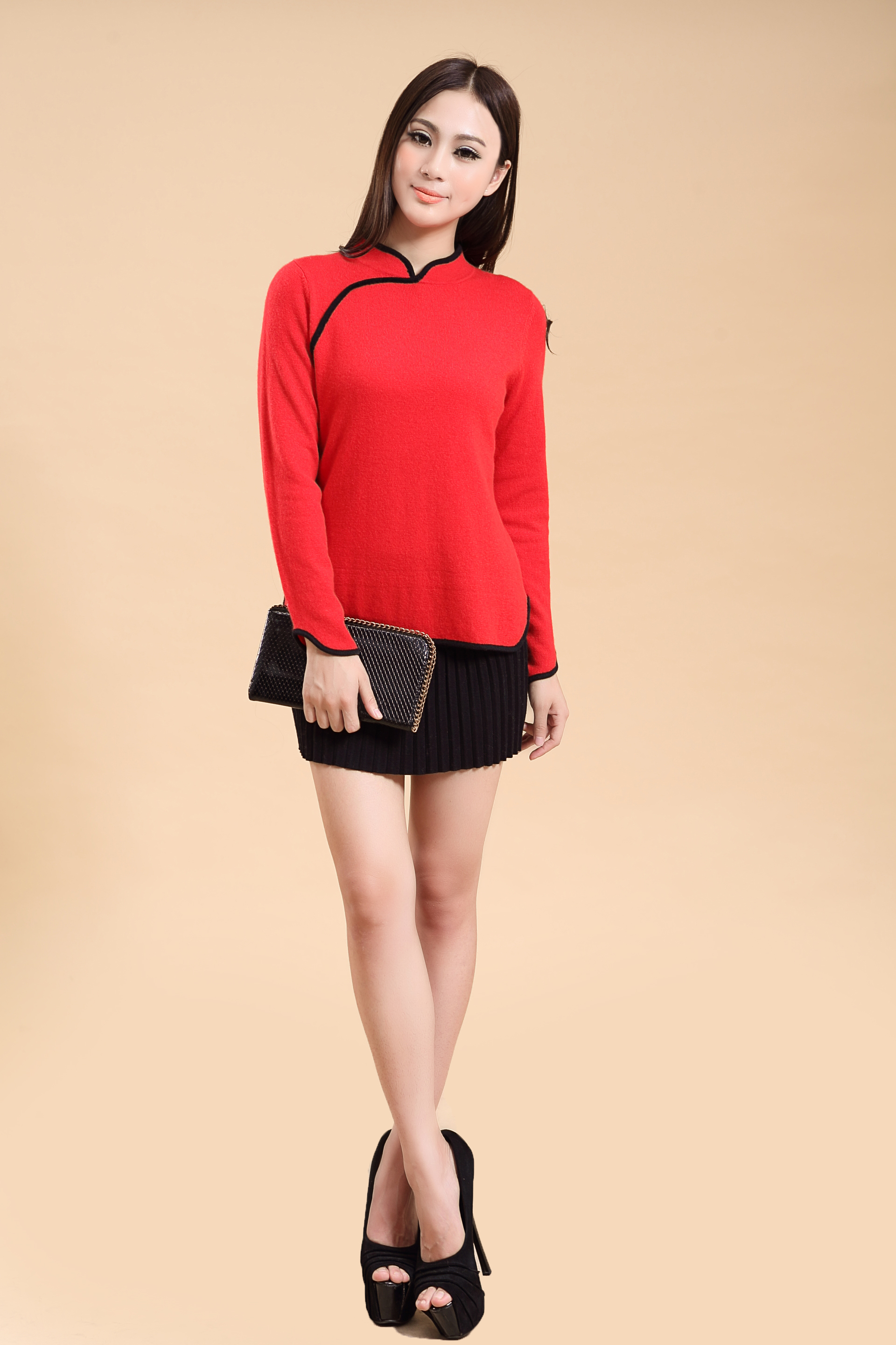 China Style slap up Ladies pullover sweater