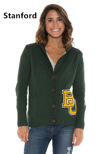 Letterman caidigan sweater/Licensed collegiate sweater