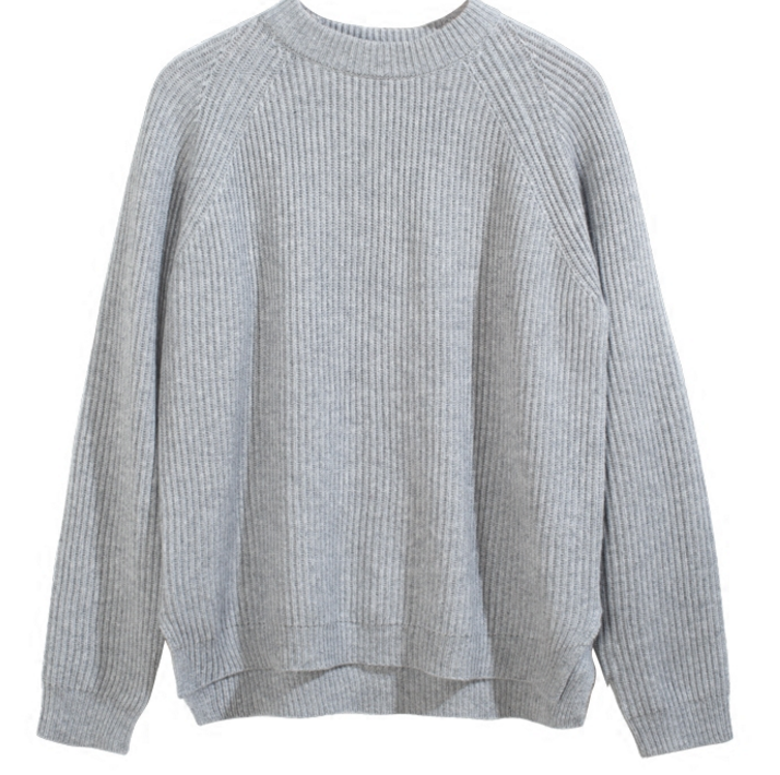 New stylish pure cashmere Woman's round neck casual sweater