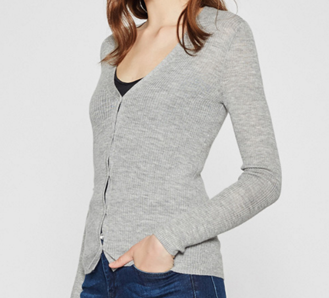 Softable Women Merino Wool Cardigan Sweater