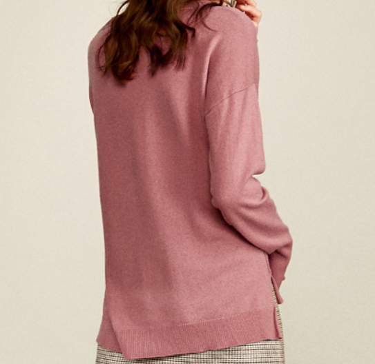 New products comfortable Merino Wool V neck Pullover Sweater