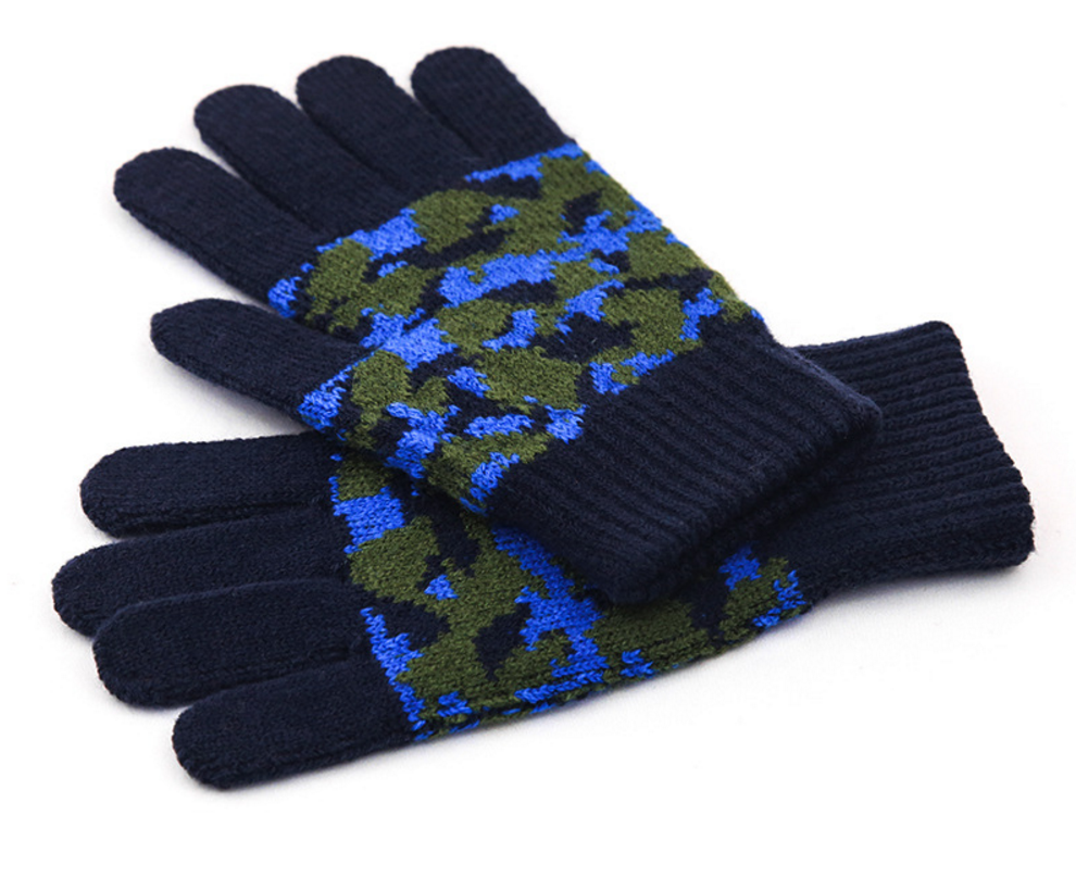 Soft Touch Custom Logo Winter Gloves Acrylic Knit SD8002