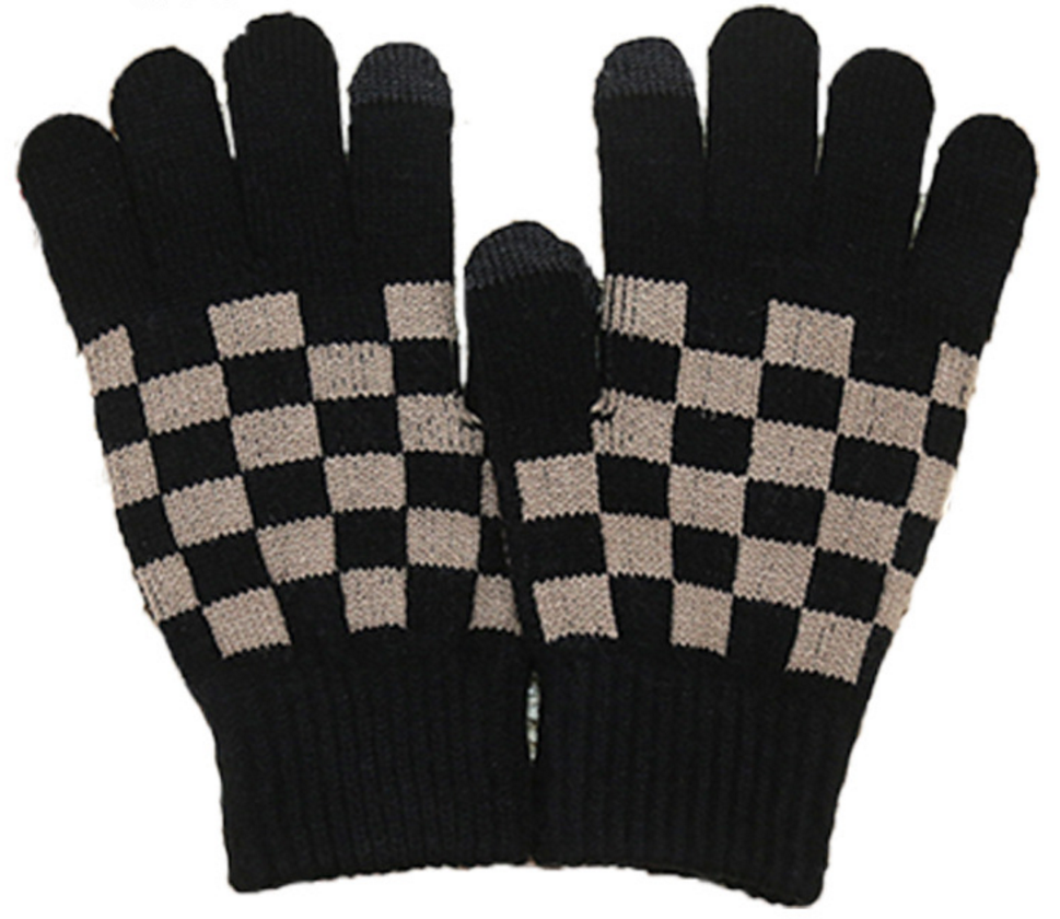 New style hot sale warmly knitting gloves for man outdoors