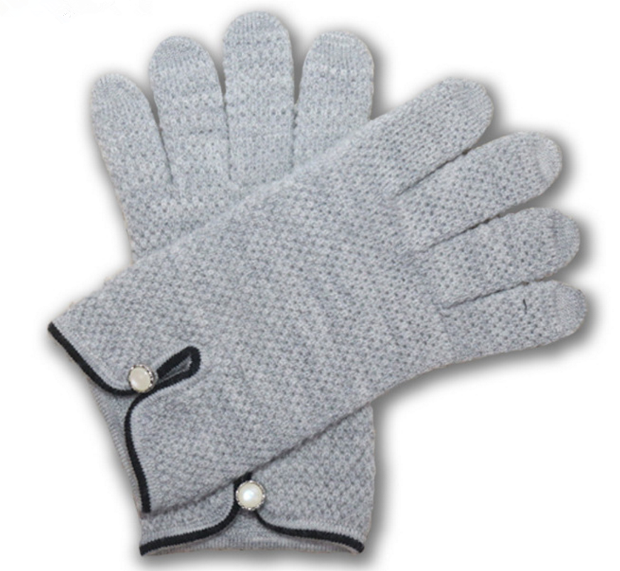 Fashion new design latest style warm knitted glove
