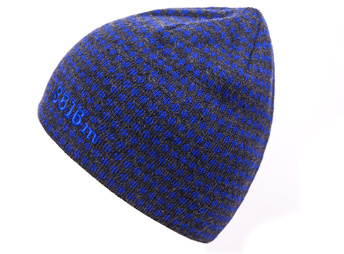 Custom logo acrylic embroidered knitted mens winter hats