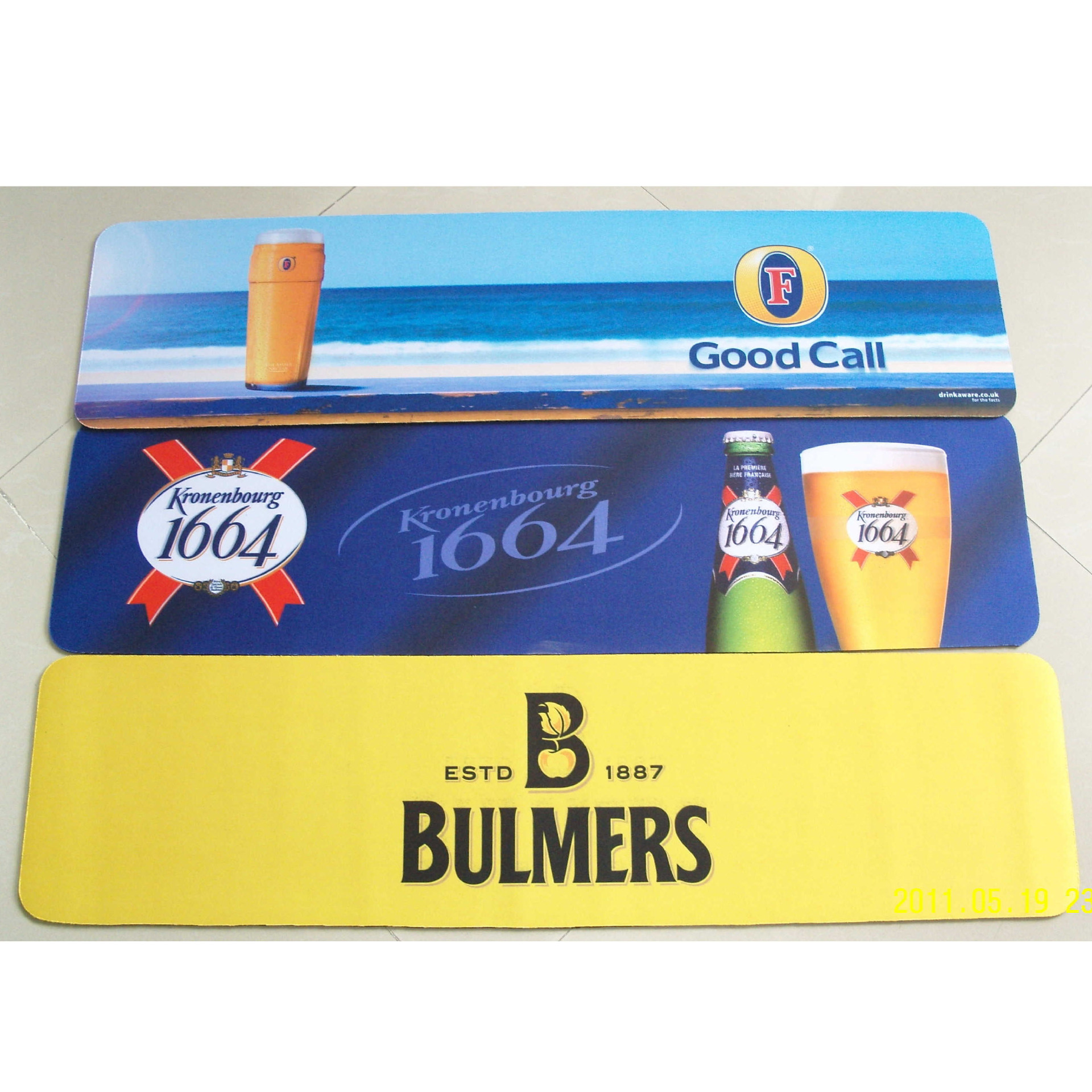Good cloth - bar mats