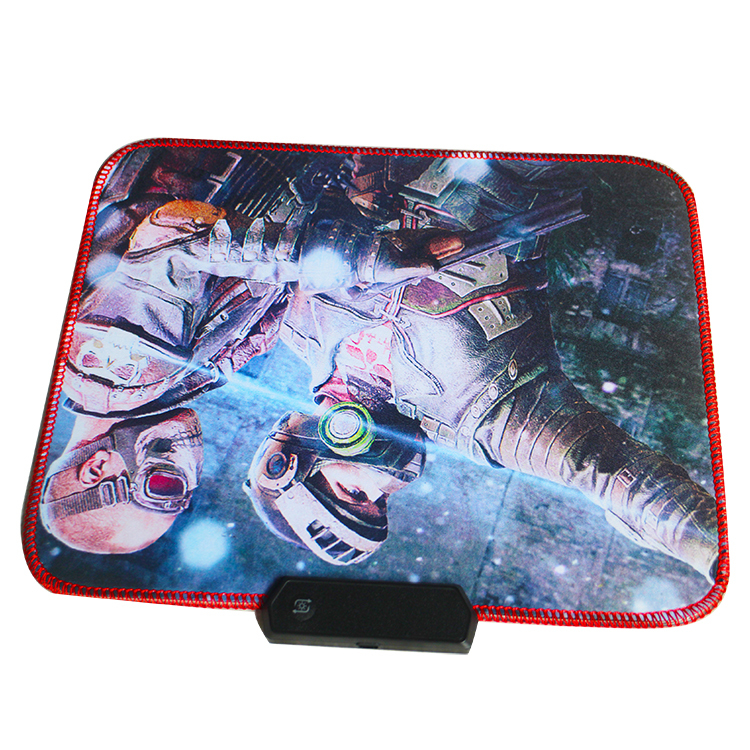 Soft cloth mouse pad