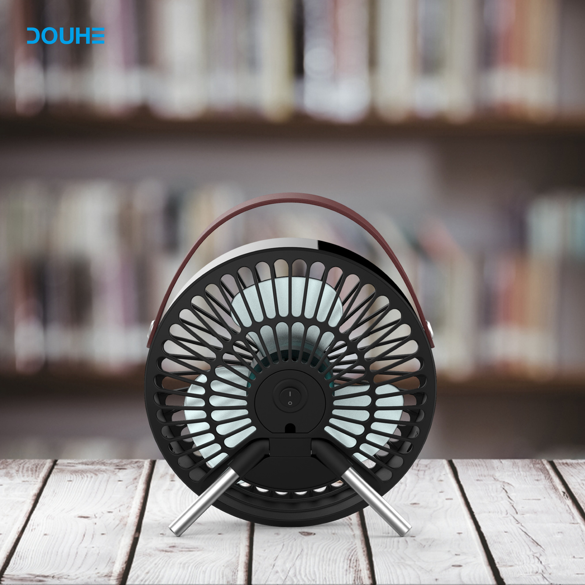 USB Desk Fan - Mini Personal Fan Portable Cooling Fan Electr