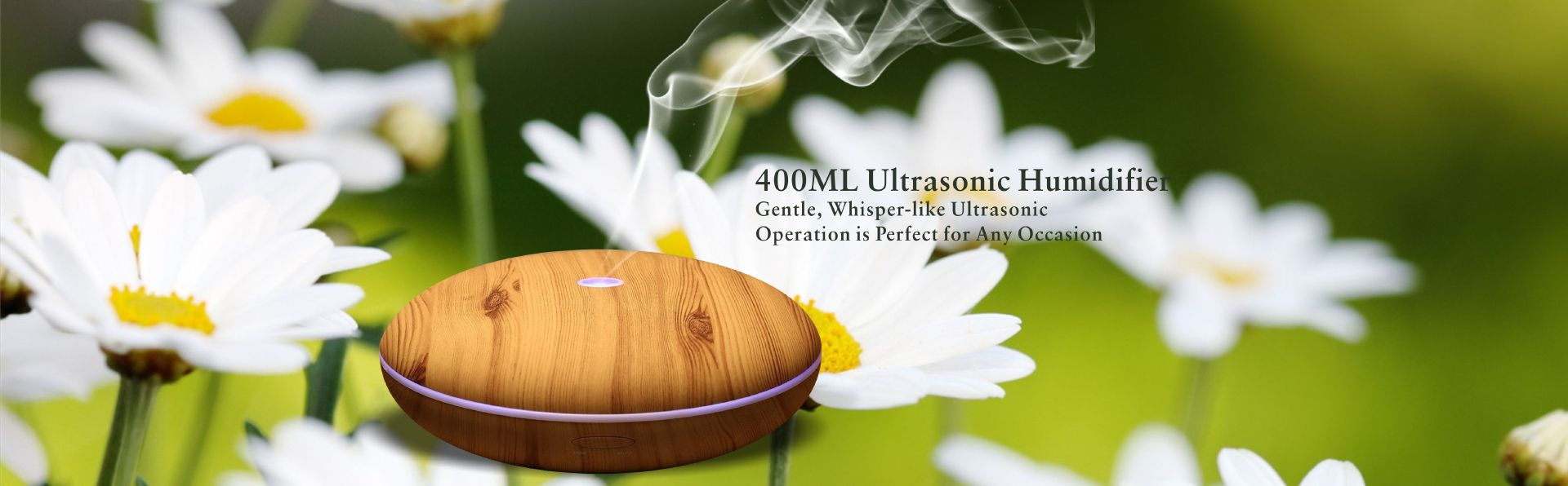 BSCI Manufacturer 200ml Wood Grain Humidifier