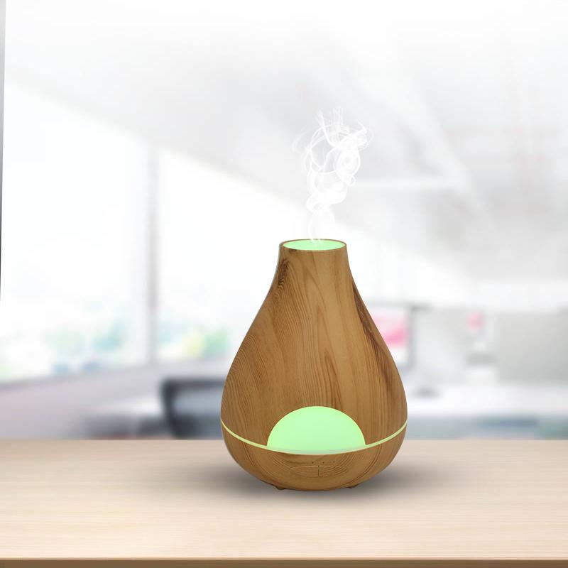 530ml wood grain aroma diffuser
