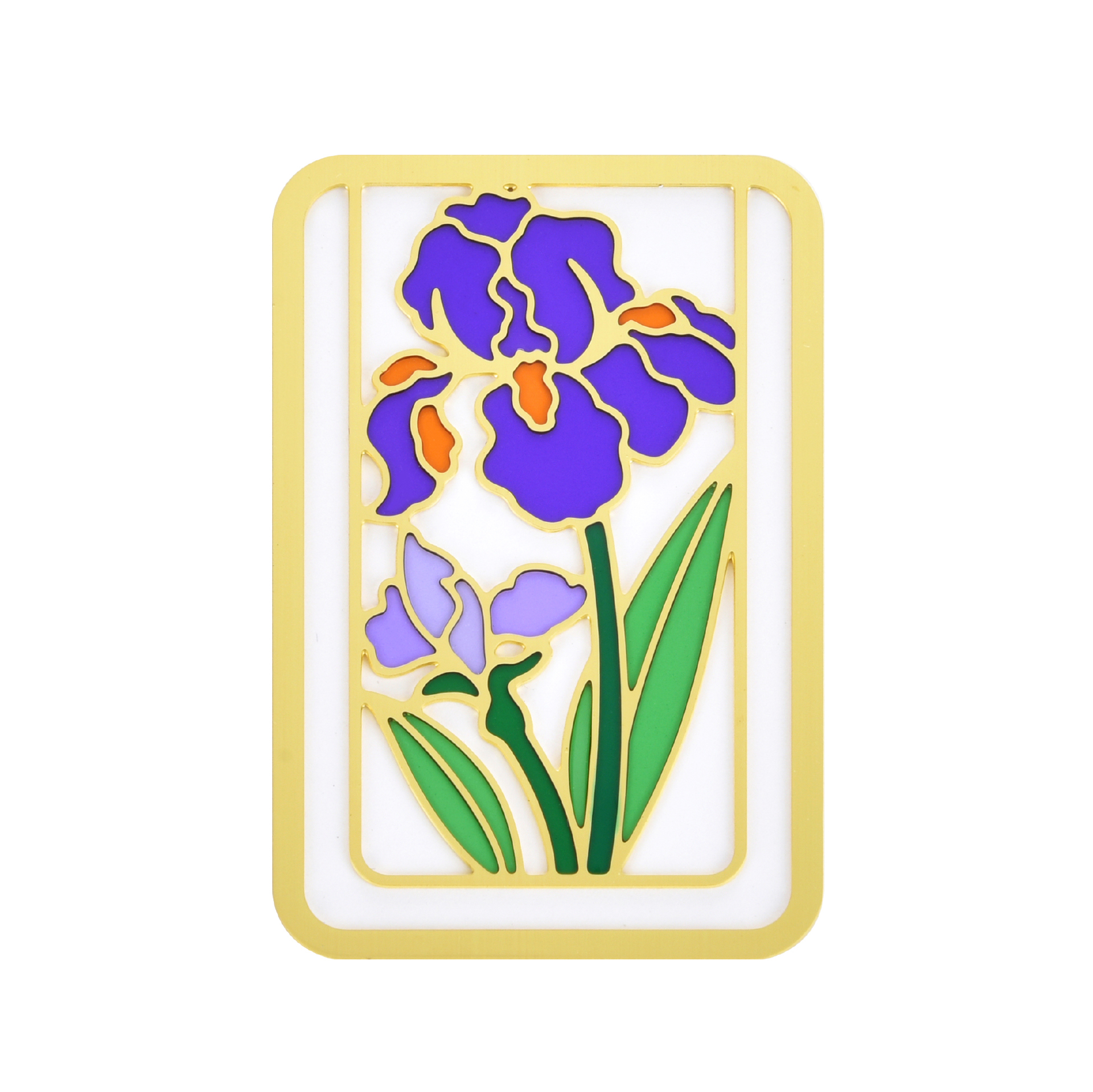Golden frame color book holder BK17005B