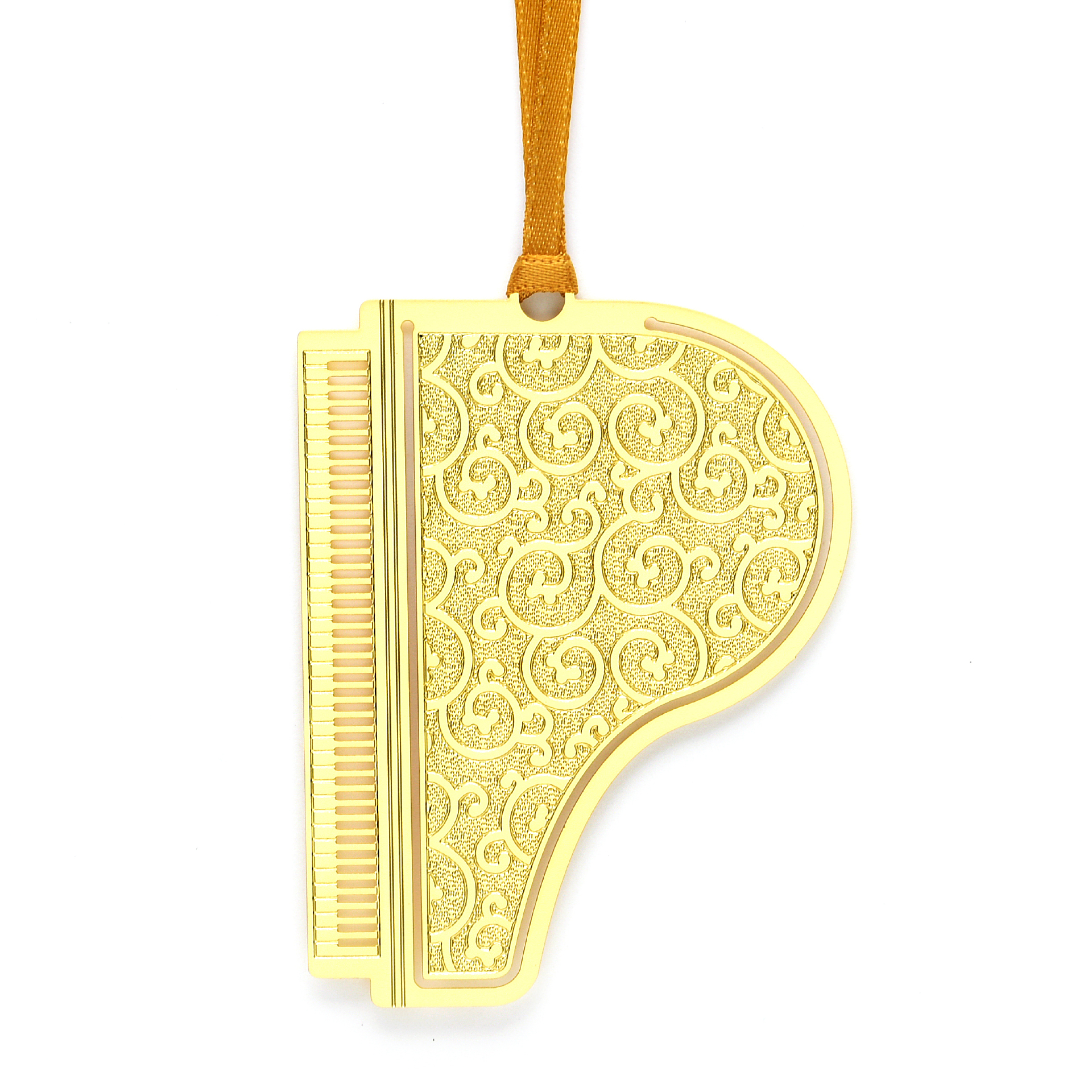 Golden shape bookmark SS17204B
