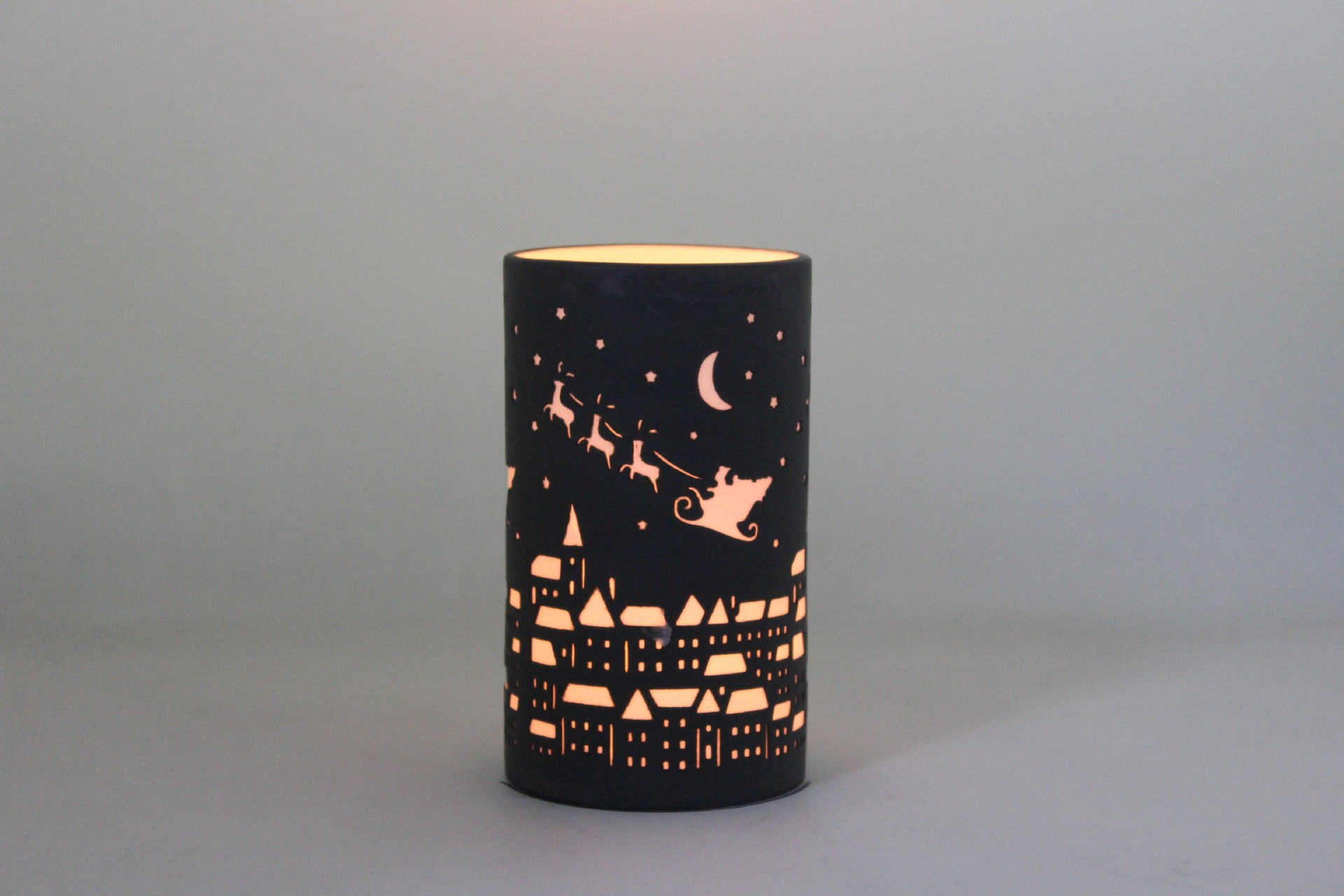 Porcelain Candle Holder PP17019B