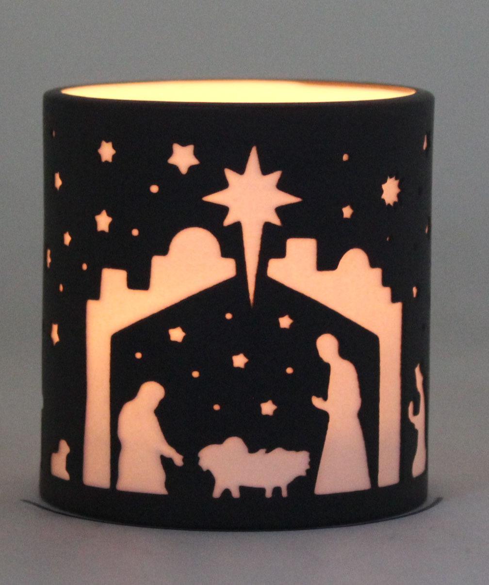 Porcelain Candle Holder PP17012B