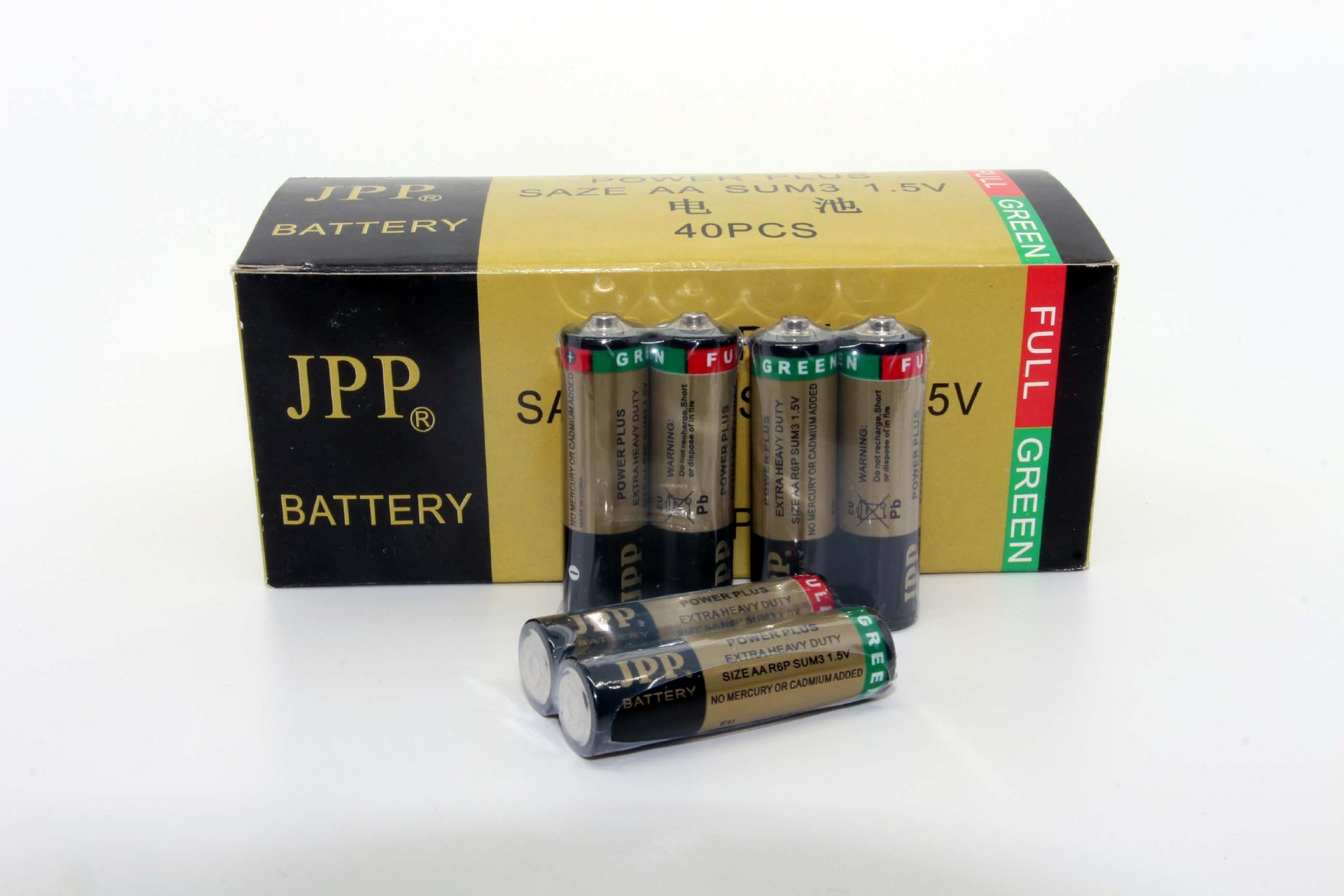 R6P AA Carbon Zinc Batteries