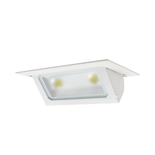 Rectangular recessed led down light lotus series mozeypictures Image collections