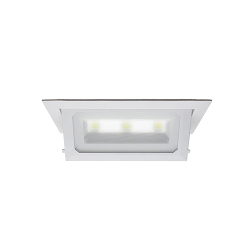 Recessed led down light lotus series rectangular recessed led down light lotus series mozeypictures Image collections