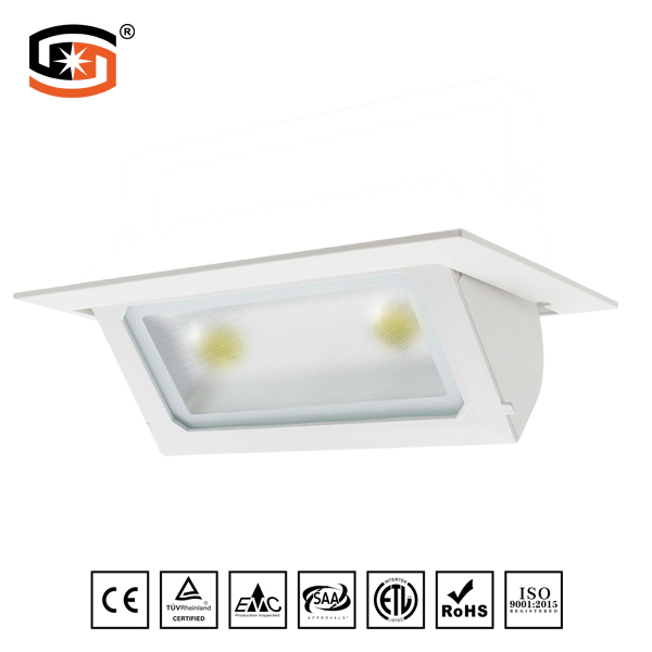 Rectangular recessed LED DOWN LIGHT
