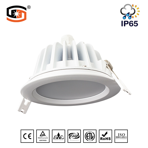 IP65 LED down light Round recessed