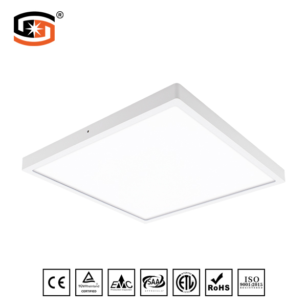 600x600mm LED panel light Square surface mounted