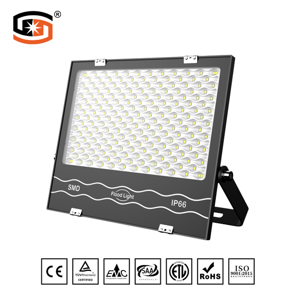 NEW Developed 300W LED flood light Black