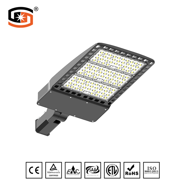 300W Shoebox LED street light