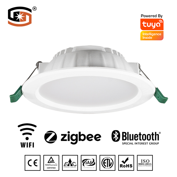 Tuya smart LED downlight with Bluetooth