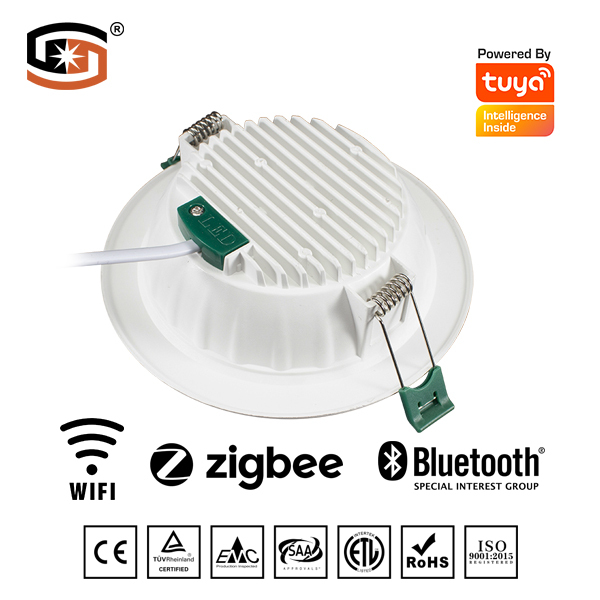 Tuya smart led downlight with ZigBee