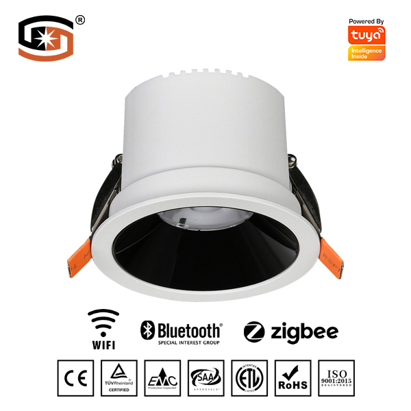 18W TUYA CCT+DIM LED downlight