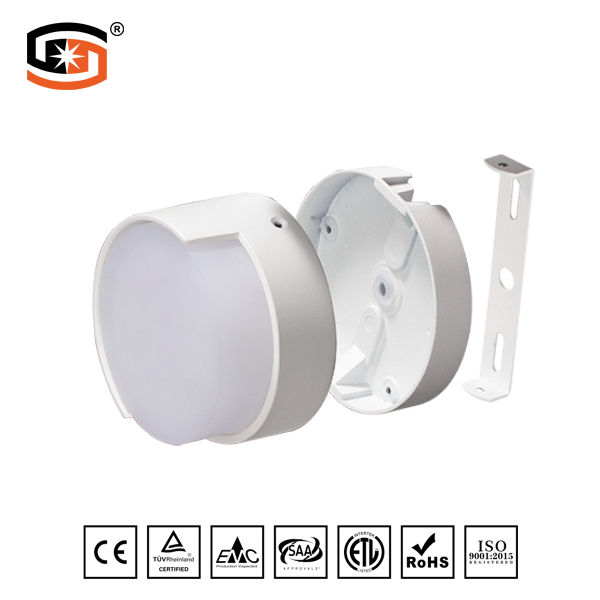 LED round wall lamp