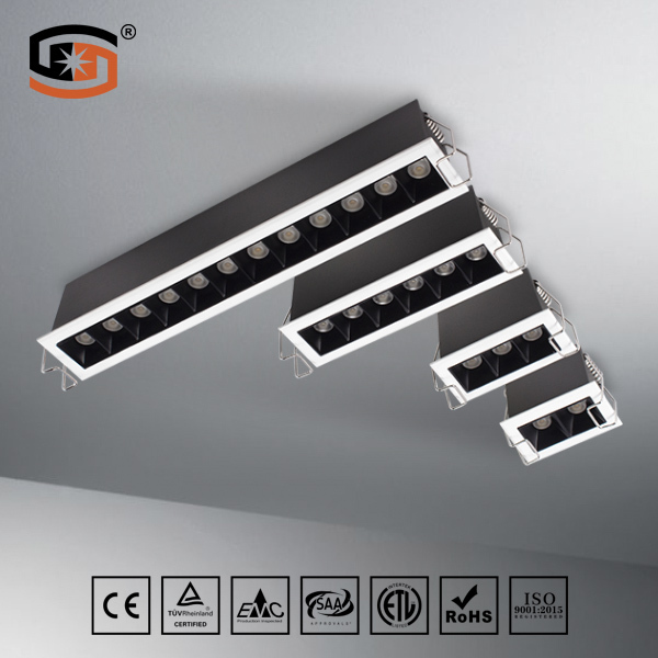 9W recessed downlight