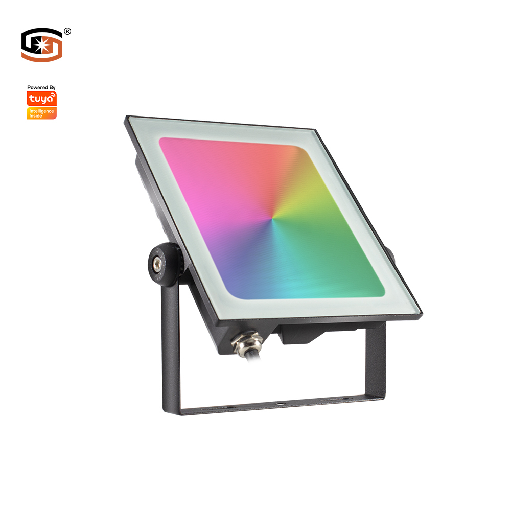 Smart led flood light