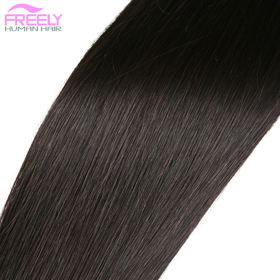 3 bundles 10 12 14 inch Straight Hair Extension 100% Real 10