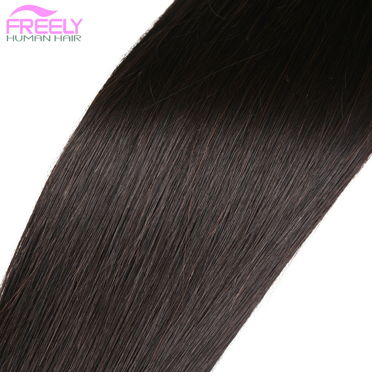 3 Bundles 16 18 20 inch  Straight Human Hair Extensions Unpr