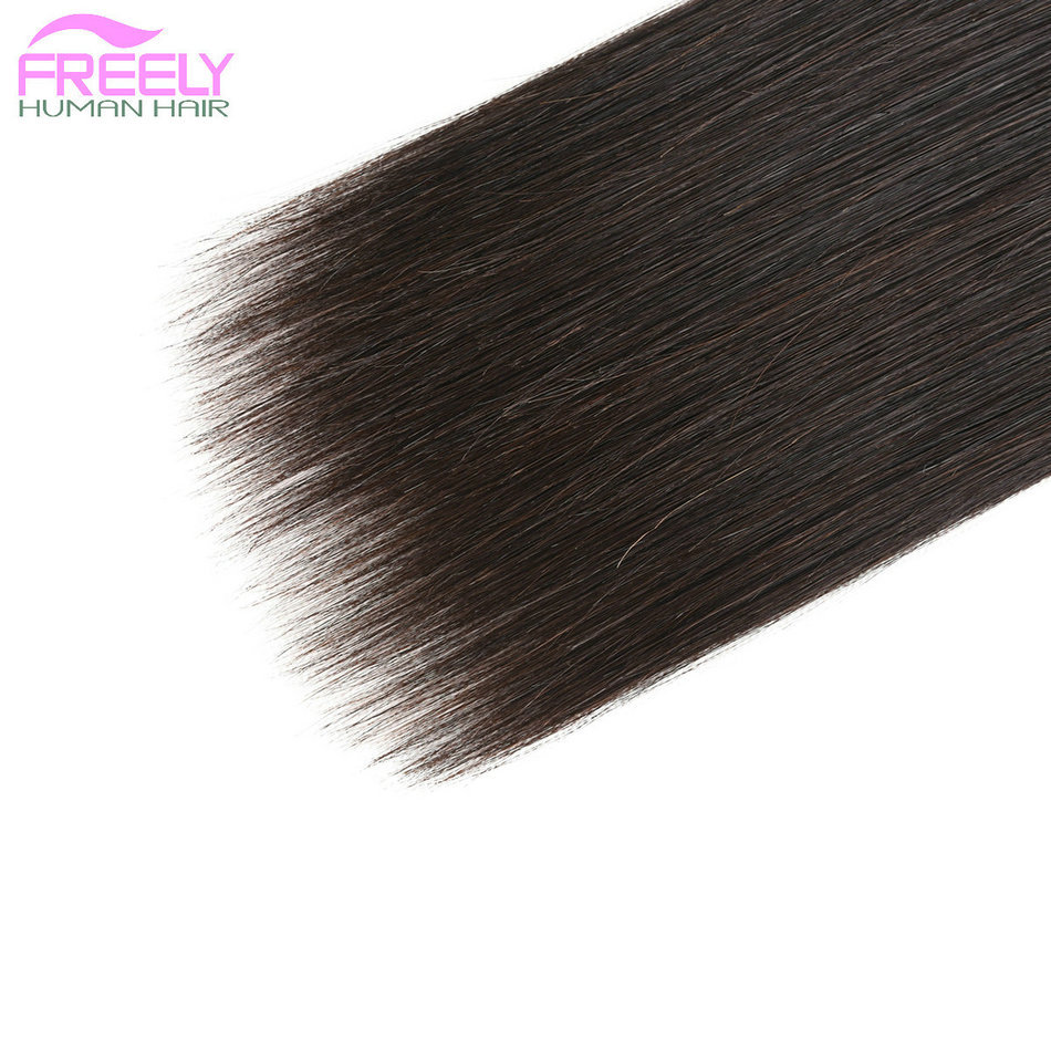22 24 26 inch 3 Bundles Straight Unprocessed 10A Virgin Braz