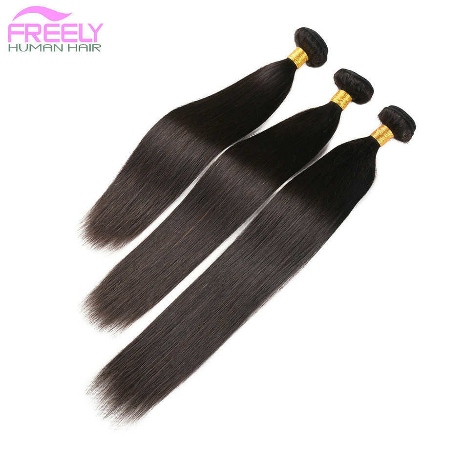 20 22 24 inch  3 Bundles Straight Unprocessed 10A Virgin Bra
