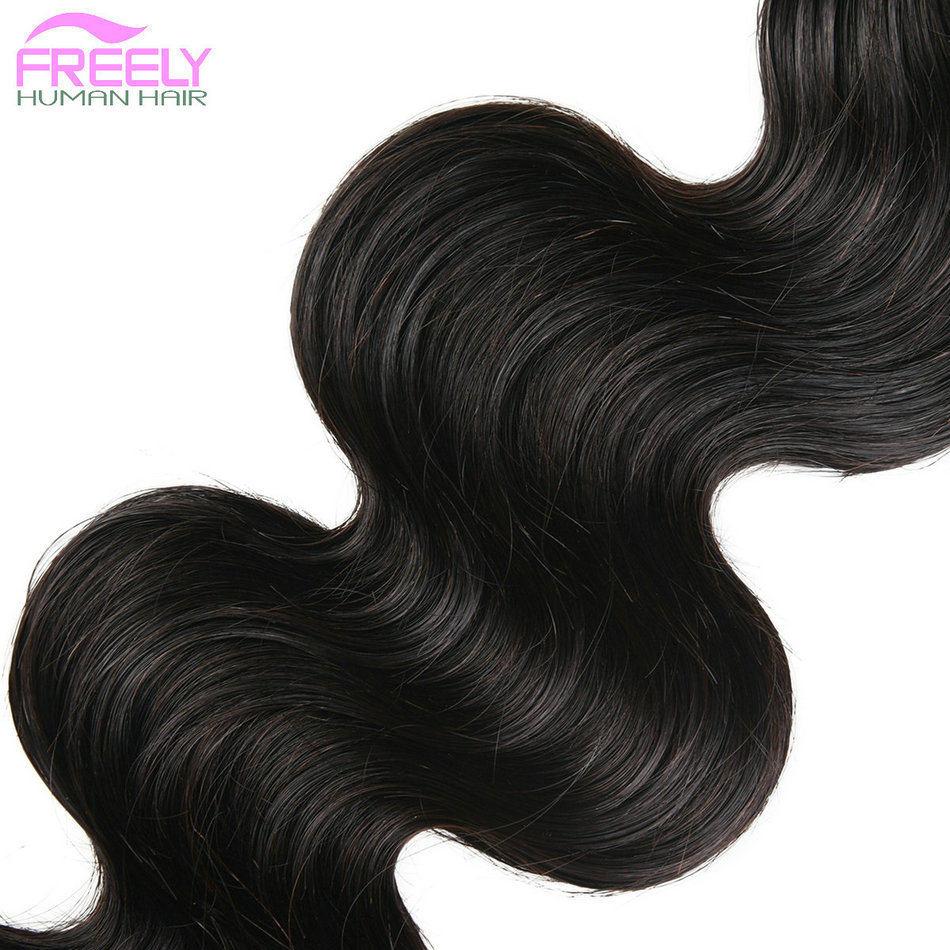 10A Remy Hair Extensions Body  Wave 10 12 14 inch Remy Human
