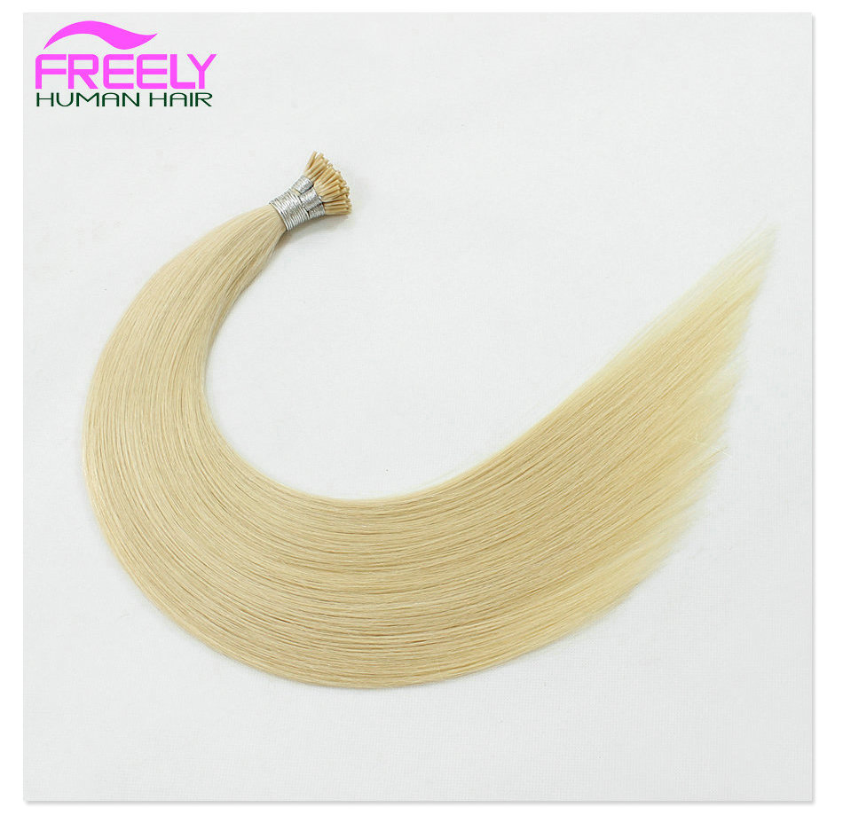 16 Inch 100Strands  Stick I- Tip Keratin Remy Hair Extension