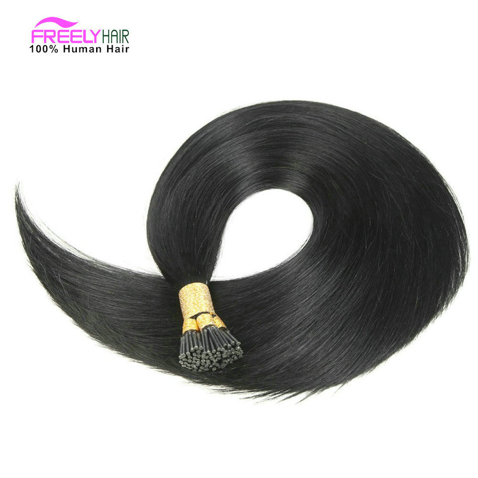 18 Inch 50Strands Stick I- Tip Keratin Remy Hair Extensions