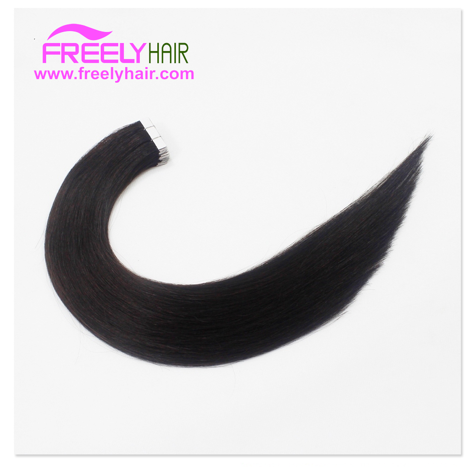 "24"" Remy Tape in Hair Extension 2g/piece 20pieces/Pack Natur"